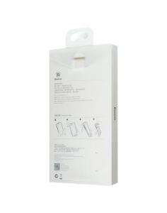 Carcasa protectie spate din plastic pentru iPhone X/Xs 5.8 inch, transparenta2