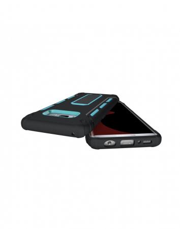 Carcasa protectie spate 2 in 1 pentru Samsung Galaxy S8 G950, albastra2