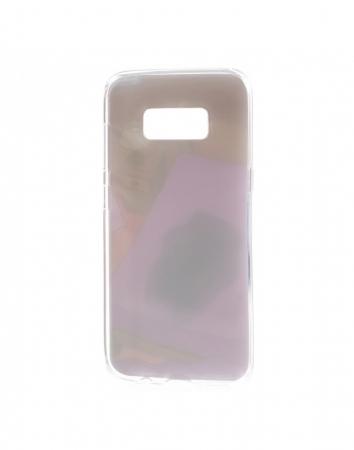 Carcasa protectie spate cu pisica Squishy pentru Samsung Galaxy S8, mov3