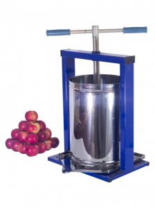 Teasc pentru struguri, din inox, manual, mecanic, Vilen, 15 litri3