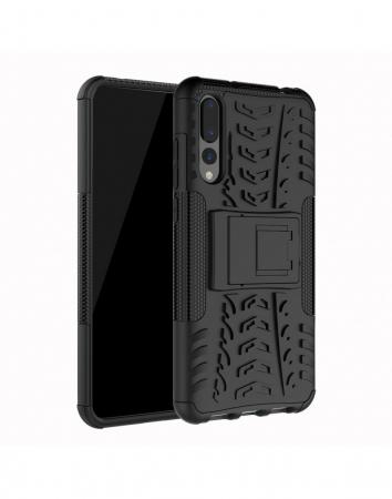 Carcasa protectie spate anti-alunecare pentru Huawei P20 Pro, neagra6