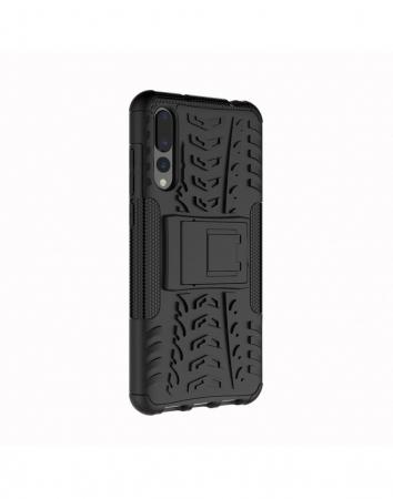Carcasa protectie spate anti-alunecare pentru Huawei P20 Pro, neagra3