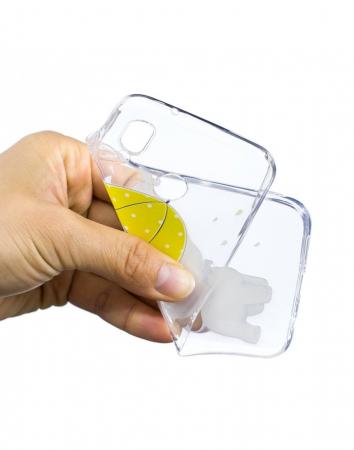 Carcasa protectie ,,Elefant'' din gel TPU pentru Huawei P20 Lite3