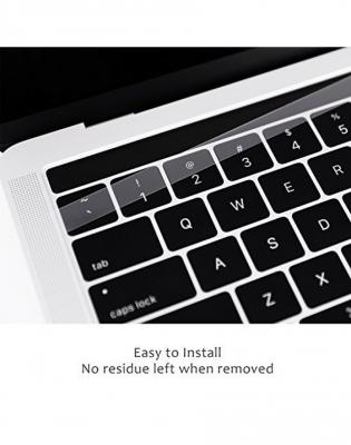Pachet folie protectie ecran anti-glare si folie clara touchbar pentru Macbook Pro 13 Touch Bar5
