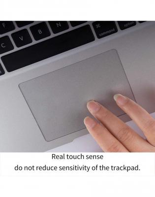 Pachet folie protectie ecran anti-glare si folie clara trackpad pentru Macbook Air 135