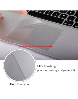 Pachet folie protectie ecran anti-glare si folie clara trackpad pentru Macbook Air 132