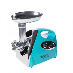 Masina electrica inox de tocat carne, DeToolz,DZ-CB100,1400W, accesorii incluse5