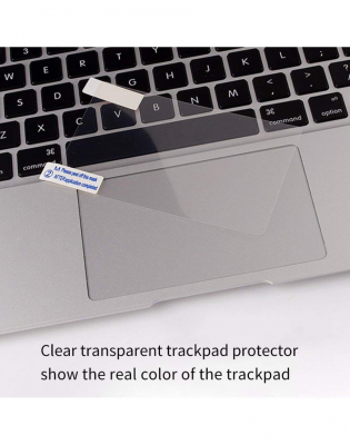 Pachet folie protectie ecran anti-glare si folie clara trackpad pentru Macbook Air 133