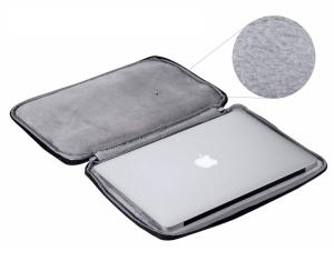 """Geanta protectie pentru MacBook 15.4"""", neagra1"""