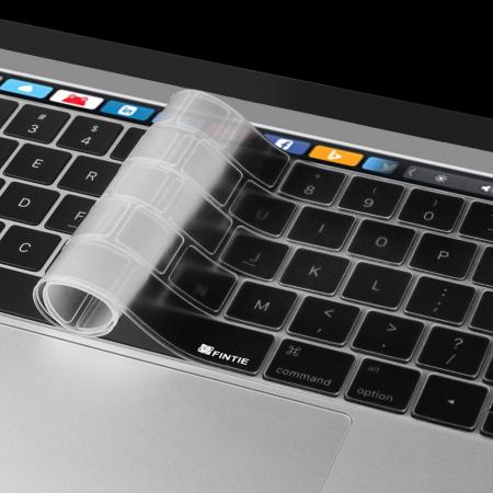"""Folie protectie tastatura pentru Macbook Pro 13.3""""/ 15.4"""" Touch Bar - versiunea americana3"""