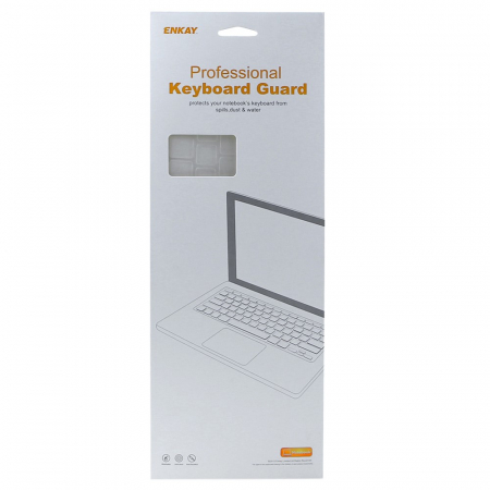 """Folie protectie tastatura pentru Macbook Pro 13.3""""/ 15.4"""" Touch Bar - versiunea americana0"""
