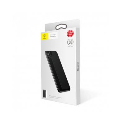 Sticla securizata protectie spate pentru iPhone X 5.8 inch2