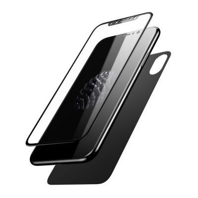 Pachet sticle securizate protectie fata spate pentru iPhone X0