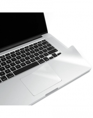 "Folie protectie palm rest si trackpad aspect aluminiu pentru MacBook Air 13.3""0"