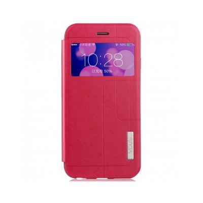 """Husa protectie VOUNI """"Window View"""" pentru iPhone 6 / 6s, rosie0"""