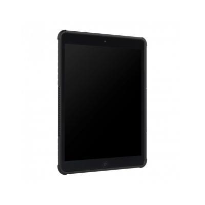 Carcasa protectie spate cu suport din plastic si gel TPU pentru iPad 9.7 inch (2017/2018), neagra [4]