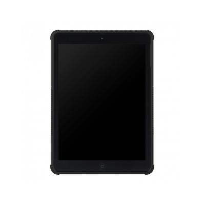 Carcasa protectie spate cu suport din plastic si gel TPU pentru iPad 9.7 inch (2017/2018), neagra [5]