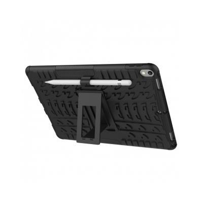 """Carcasa de protectie cu suport din plastic si gel TPU pentru iPad Pro 10.5"""" (2017), neagra2"""