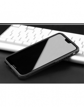 "Carcasa protectie spate ,,Pisica"" pentru Huawei P20 Lite, neagra4"