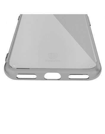 Carcasa protectie BASEUS din gel TPU pentru iPhone 7 Plus 5.5 inch, neagra