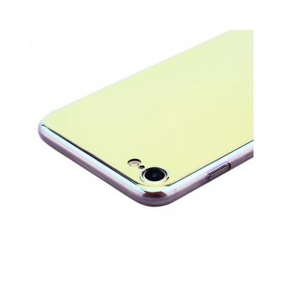 Carcasa protectie spate BASEUS din plastic cu suprafata oglinda pentru iPhone 7 Plus, gold5