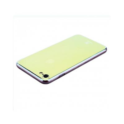 Carcasa protectie spate BASEUS din plastic cu suprafata oglinda pentru iPhone 7 Plus, gold3