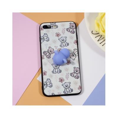 Carcasa protectie spate cu urs Squishy pentru iPhone 7 Plus / iPhone 8 Plus4