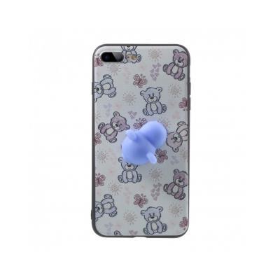 Carcasa protectie spate cu urs Squishy pentru iPhone 7 Plus / iPhone 8 Plus5