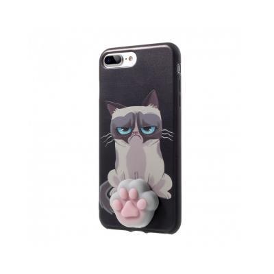 Carcasa protectie spate cu Squishy pentru iPhone 7 Plus / iPhone 8 Plus
