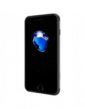 Carcasa protectie spate BASEUS din plastic si gel TPU cu suport pentru iPhone 7 Plus 5.5 inch, gri3