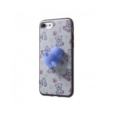 Carcasa protectie spate cu urs Squishy pentru iPhone 7 / iPhone 80