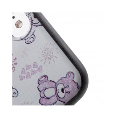 Carcasa protectie spate cu urs Squishy pentru iPhone 7 / iPhone 85