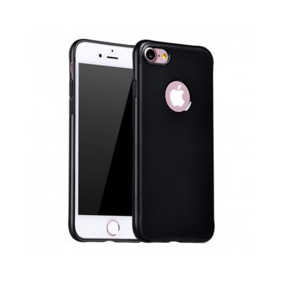 Carcasa protectie spate cu suprafata mata pentru iPhone 7 Plus, neagra0