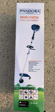 Motocoasa Pandora, pliabila Albastra, 6CP, 10.000RPM + 8 Accesorii [4]