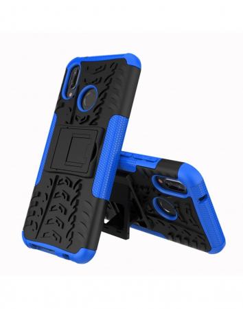 Carcasa protectie spate anti-alunecare pentru Huawei P20 Lite0