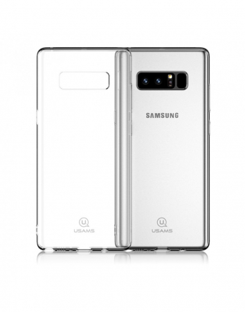 Carcasa protectie spate clara pentru Samsung Galaxy Note 80