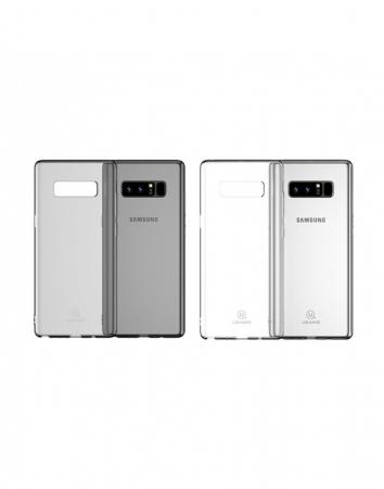 Carcasa protectie spate clara pentru Samsung Galaxy Note 81