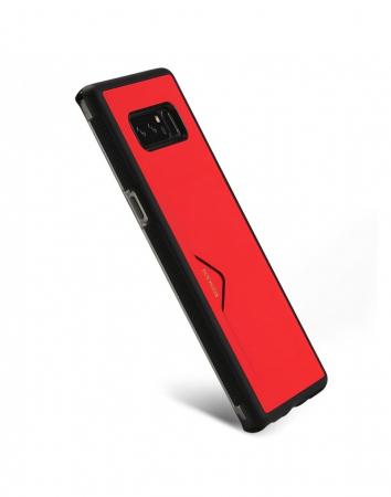 Carcasa protectie spate cu suport pentru card pentru Samsung Galaxy Note 81