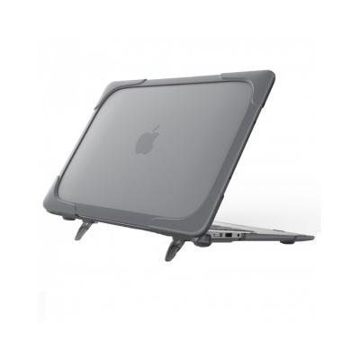 Carcasa protectie spate Heavy Duty cu suport pentru MacBook Air 13.3 inch0