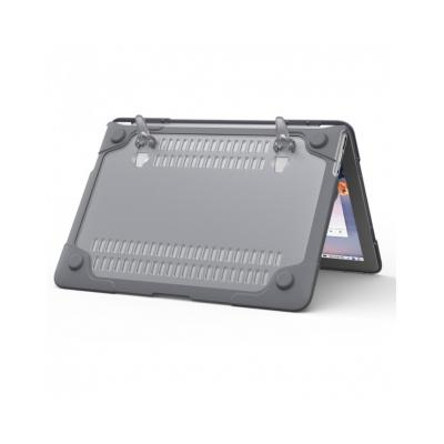 Carcasa protectie spate Heavy Duty cu suport pentru MacBook Air 13.3 inch12