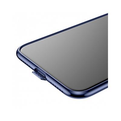 Carcasa protectie spate din gel TPU cu dopuri anti-praf pentru iPhone X 5.8 inch3
