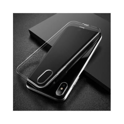 Carcasa protectie spate din gel TPU cu dopuri anti-praf pentru iPhone X 5.8 inch4