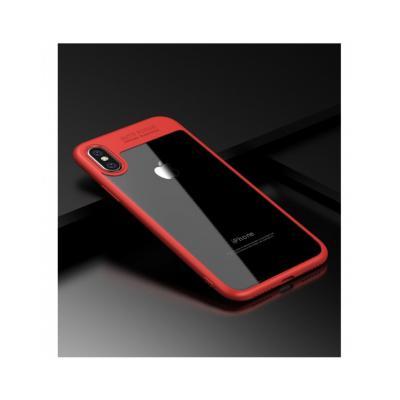 Carcasa protectie spate din gel TPU si acrilic pentru iPhone X 5.8 inch0