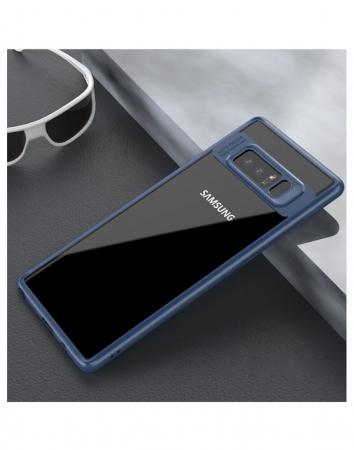 Carcasa protectie spate din gel TPU si acrilic pentru Samsung Galaxy Note 81
