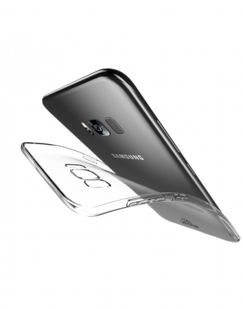 Carcasa protectie spate din gel TPU Usams pentru Samsung Galaxy S8+ G9550