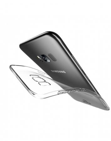 Carcasa protectie spate din gel TPU Usams pentru Samsung Galaxy S8+ G9552