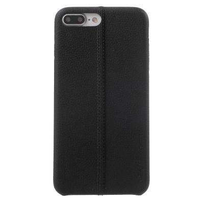 Carcasa protectie spate din piele ecologica si plastic pentru iPhone 8 / 7 4.7 inch0