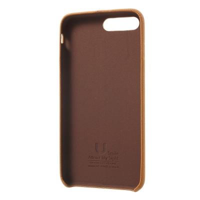 Carcasa protectie spate din piele ecologica si plastic pentru iPhone 8 Plus / 7 Plus 5.5 inch1