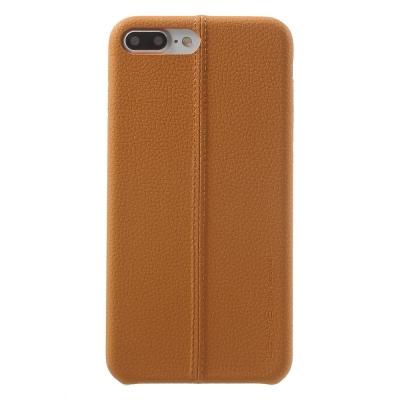 Carcasa protectie spate din piele ecologica si plastic pentru iPhone 8 Plus / 7 Plus 5.5 inch0