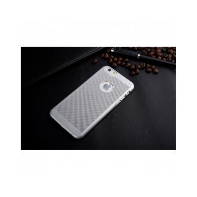 """Carcasa protectie spate din plastic mesh pentru Iphone 6 Plus 5.5"""" - gri1"""